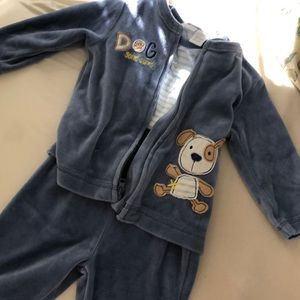 Other - Blue 3 piece outfit size 3-6 months